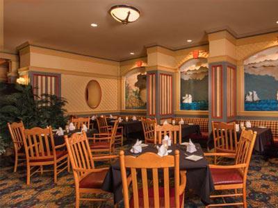 Restaurante Captain's Grlle Disney's Beach Club Villas