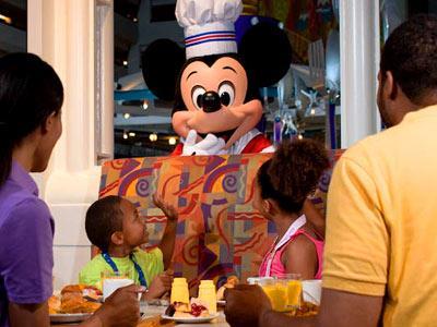 Restaurante Chef Mickey's Disney's Contemporary Resort