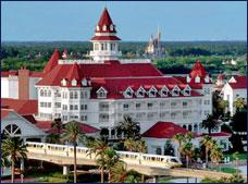 fachada Disney's Grand Floridian Resort and Spa