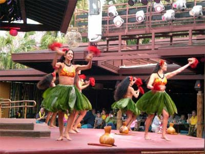 Disney's Spirit of Aloha Show Disney's Polynesian Resort