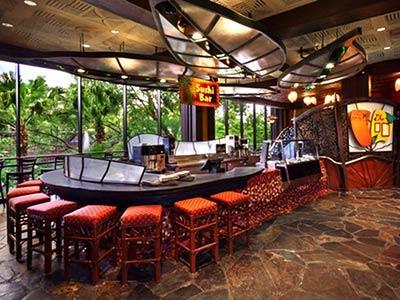 Restaurante Kona Island Disney's Polynesian Resort