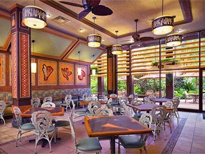 Restaurante Captain Cook's Disney's Polynesian Resort