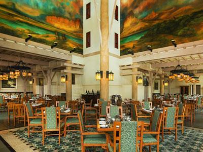 Restaurante Artist Point Disney's Wilderness Lodge Resort