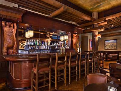 Restaurante Territory Lounge Disney's Wilderness Lodge Resort