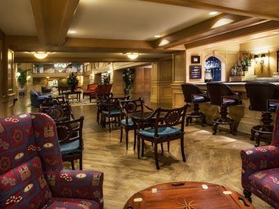 Ale and Compass Lounge Bar Disney's Yacht Club Resort
