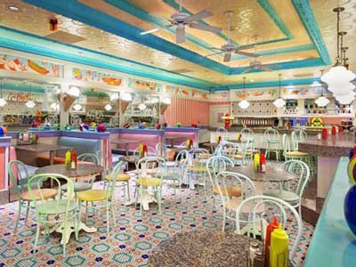 Beaches and Cream Soda Shop Restaurant Disney's Yacht Club Resort