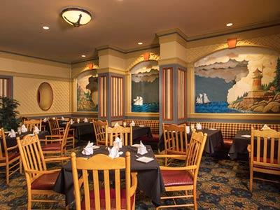 Captain's Grille Restaurant Disney's Yacht Club Resort