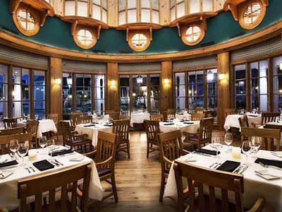 Yachtsman Steakhouse Restaurant Disney's Yacht Club Resort