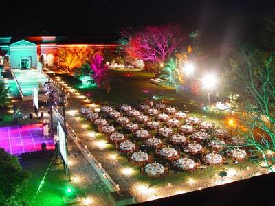 Courtyard for events