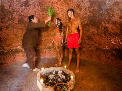 Temazcal Experience & Standar Room