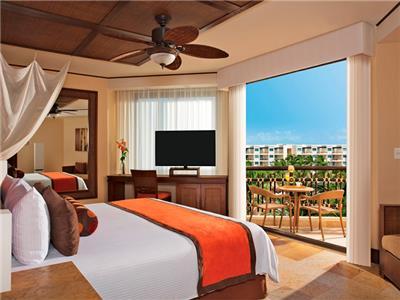 Premium Deluxe Vista Tropical al Jardín Cama King