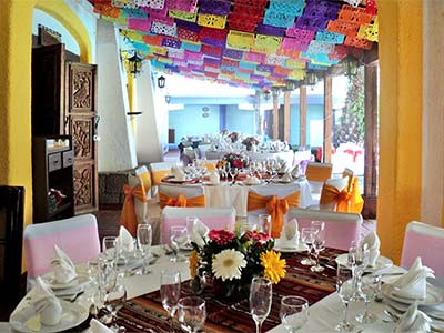 Banquetes en Restaurante Media Luna